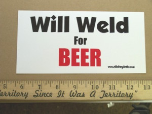 Welding Funny Stickers
