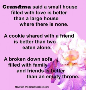Grandma said . . .