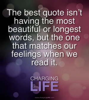 The best quotes....