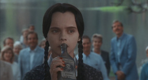 depressed sadness the addams family poison Wednesday Addams