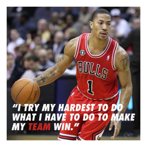 ... Motivational Quotes , Derrick Rose Wallpaper , Derrick Rose Quotes