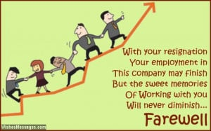 Sayings For Employee Leaving Image