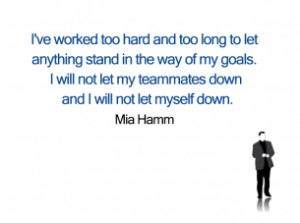 Printable Mia Hamm Quotes