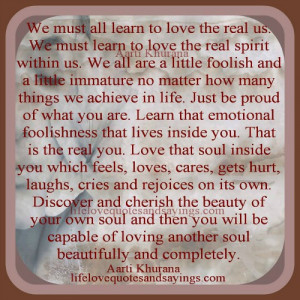 Love Your Soul..