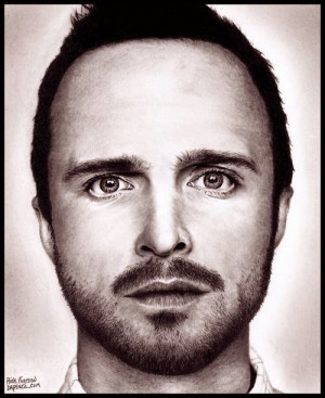 02-Aaron-Paul-Jesse-Pinkman-Breaking-Bad-Rick-Kills-Pencils-DrPencil ...