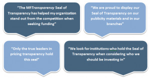 Seal of Transparency quotes