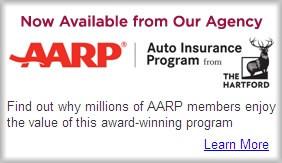 Oakland CA Hartford AARP insurance