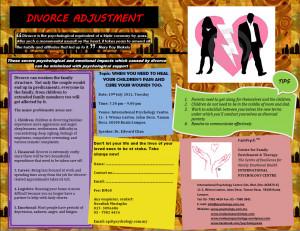 Talk on Divorce Adjustment