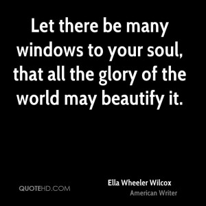 Window to the Soul Quotes