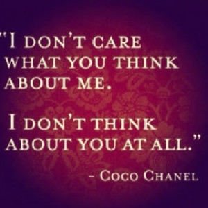 don't care... in Quotes & other things