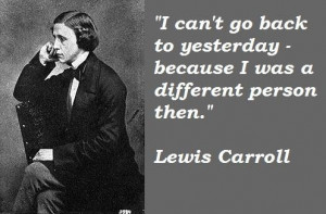 Lewis carroll famous quotes 1