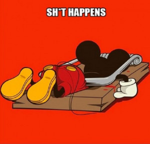 Mickey mouse, quotes, sayings, funny, humor, cute quote