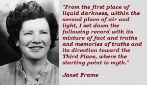 Janet frame famous quotes 3