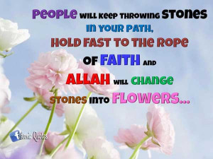Islamic Quotes – Allah hates proud People
