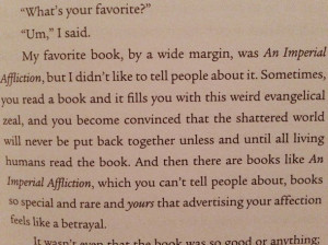 books, john green, quote, the fault in our stars