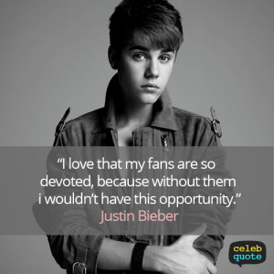 Justin Bieber Inspiring Quote Justin Bieber Images and quot