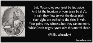 More Phillis Wheatley Quotes