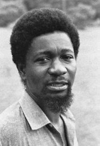 An early picture of Soyinka , possibly closer to his appearance at the ...