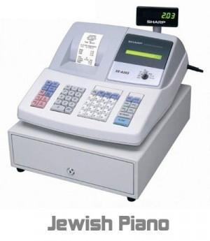 funny Jewish piano cash register