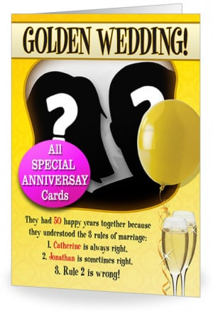 50th wedding anniversary quotes quotes pics 520x397 funny wedding