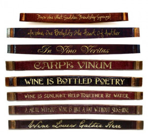 ... wine and good times with friends. This wine barrel stave wine sign is