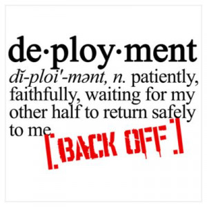 CafePress > Wall Art > Posters > dictionary deployment Poster