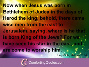 Christian Quotations about Christmas
