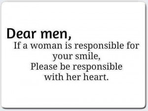Dear Men...
