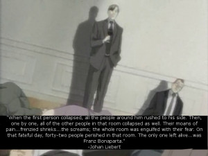 johan liebert # naoki urasawa s monster # anime quotes