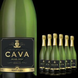 Cava Brut Spanish Sparkling Wine