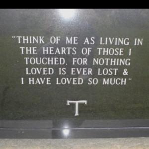 My best friend's headstone. RIP JWM