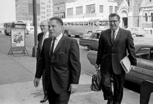 Jimmy Hoffa, Teamsters Union Pres., going to court in Nashville