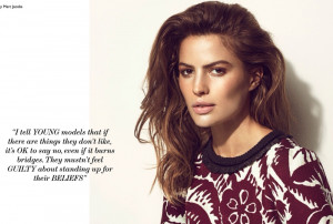 Quote of the Day: Cameron Russell
