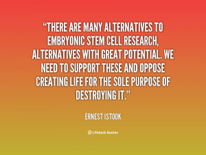 Embryonic Stem Cell Research Quotes