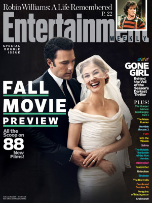 Ben Affleck and Rosamund Pike's Gone Girl Wedding Photo Is as Eerie as ...