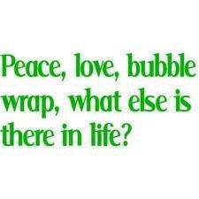 bubble wrap ♥