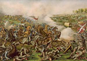 During the Civil War Battles