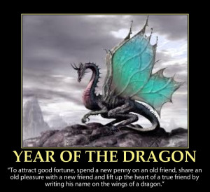 Year of the Dragon-inspirational quote-picture