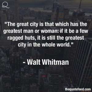 Quotes From Walt Whitman