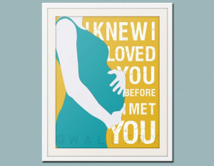 want this for the kids rooms but the actual picture of me pregnant.