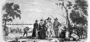 John Winthrop arrives in Massachusetts