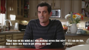 phil dunphy #phil dunphy quote #Modern Family