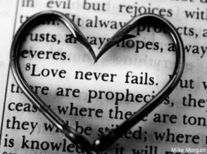 Love never fails ♥