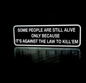 Quotes and Sayings / people black kill