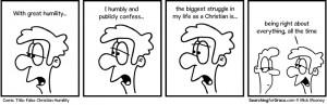 False Christian Humility