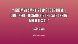 Swinging On Swings Quotes