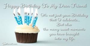 happy birthday my dear friend happy birthday my dear friend