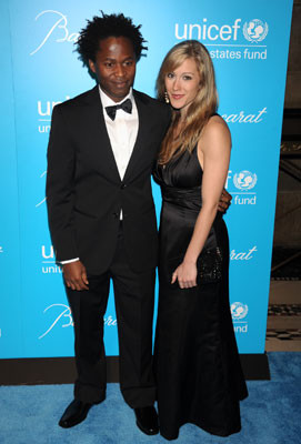 Ishmael Beah and His Wife