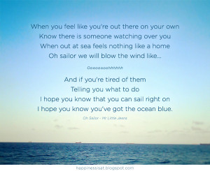 Love My Sailor Quotes Quote from oh sailor - mr