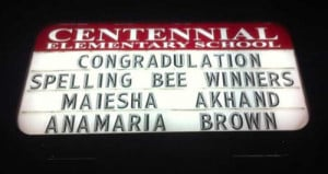 funny misspelled sign spelling bee